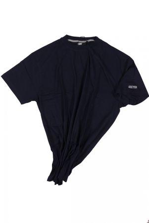T-Shirt von Allsize in Herrenübergröße bis 8XL, dunkelblau