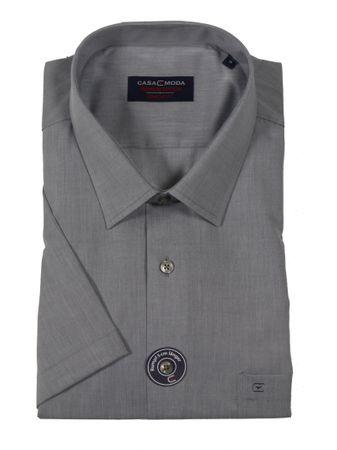 Business-kurzarm-Hemd von CasaModa in Übergröße bis 7XL, anthrazit