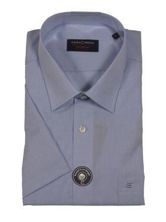 Business-kurzarm-Hemd von CasaModa in Übergröße bis 7XL, blau
