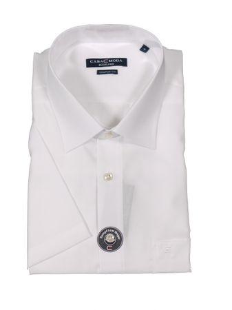 Business-kurzarm-Hemd von CasaModa in Übergröße bis 7XL, weiß