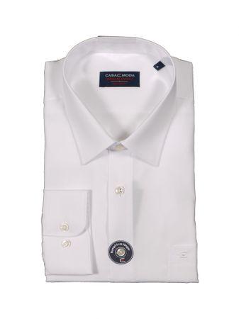 Business-Langarm-Hemd von CasaModa in großen Größen bis 7XL, weiß
