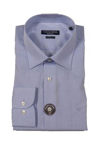 Business-Langarm-Hemd von CasaModa in großen Größen bis 7XL, hellblau