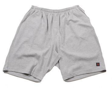 Sweat-Bermuda v. Allsize in Übergröße bis 8XL, grau
