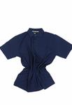 Polohemd pique in Übergröße bis 8XL von Allsize in blau