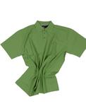 Polohemd pique in Übergröße bis 8XL von Allsize in grün 001
