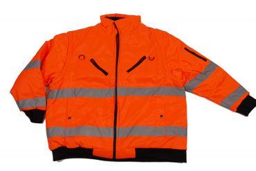 Arbeits-Jacke / Weste in Übergröße nach EN471, orange