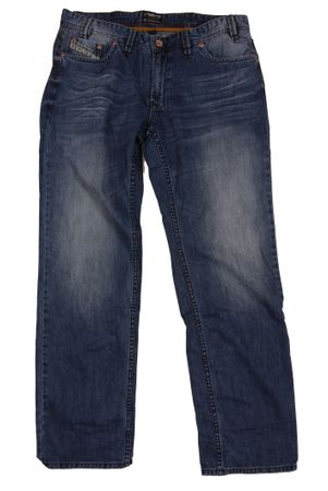 Herren Jeans von Replika used washed, blau – Bild 1