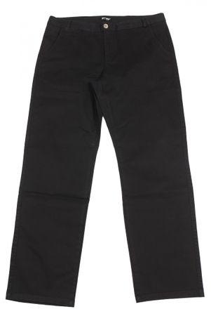 Chinohose von Greyes in großen Größen, schwarz – Bild 1