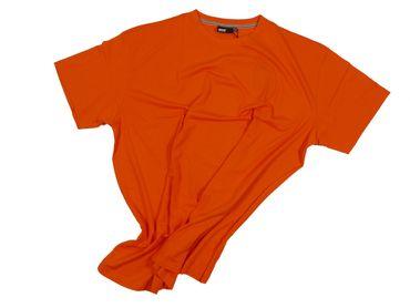T-Shirt von Allsize in Herrenübergröße bis 8XL, orange