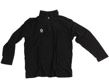 Aero Sport Fleece-Pullover in großen Größen bis 8XL, schwarz