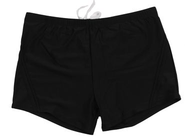 Boxer- Badeshorts von Abraxas in großen Größen bis 8XL, schwarz