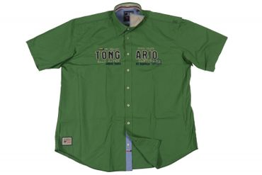 Trendiges Herrenhemd von Redfield, forrest green