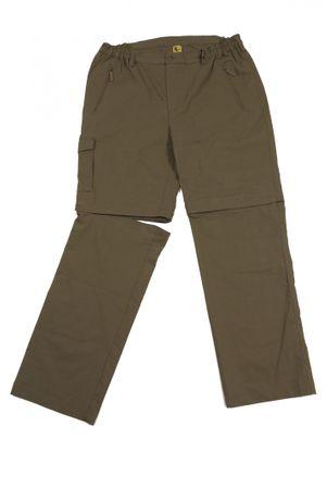 Outdoor Zipp-off-Hose von Abraxas in Übergrößen bis 10XL, khaki