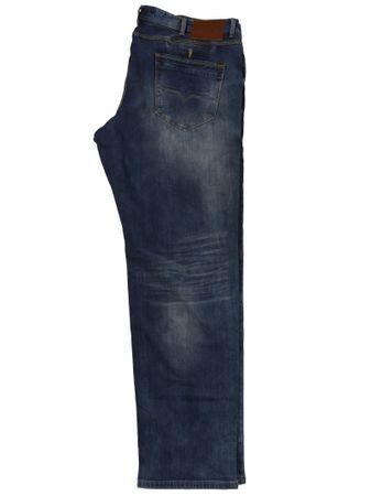 Jeans mit modischer Waschung von Replika by Allsize, denimblue
