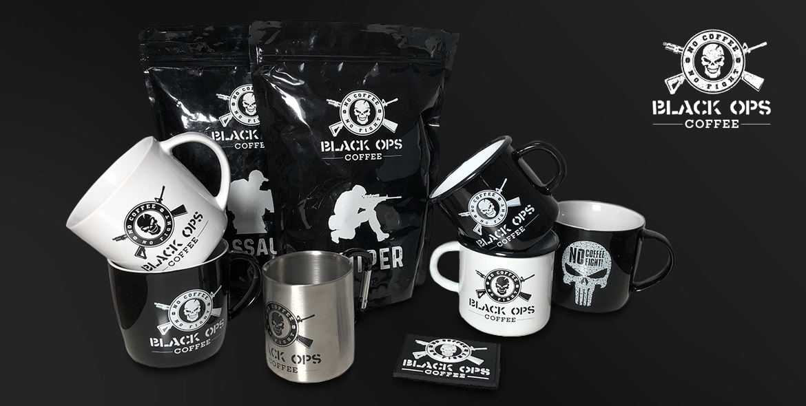 Black Ops Coffee Sortiment