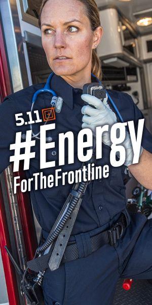 #EnergyFor The Frontline Einsatzkräfte
