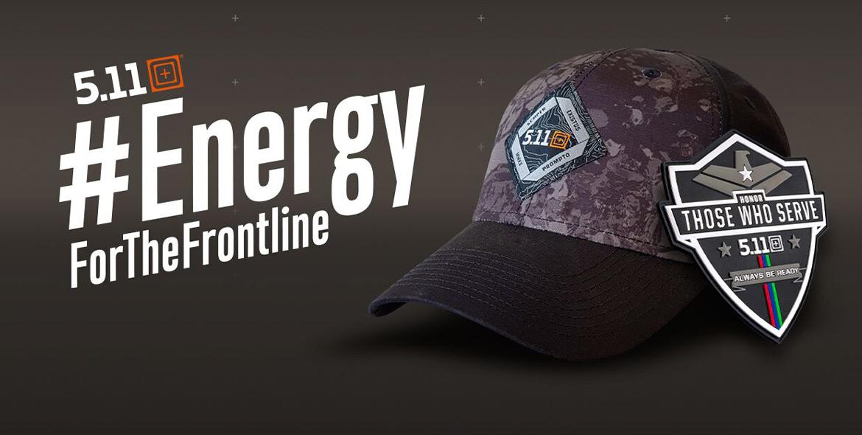 5.11 Tactical #EnergyForTheFrontline Aktion