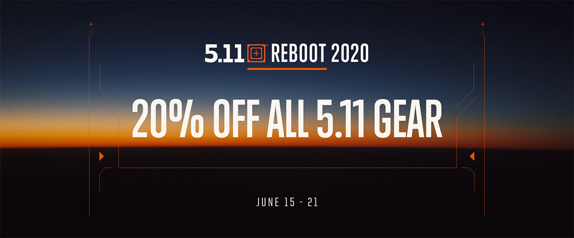 5.11 Tactical REBOOT 2020