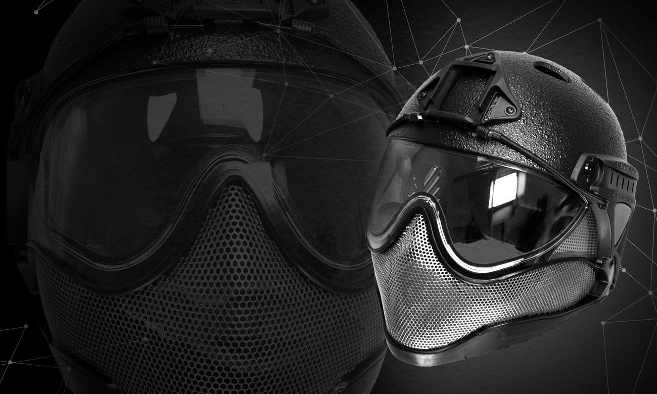 WARQ Raptor Helm schwarz