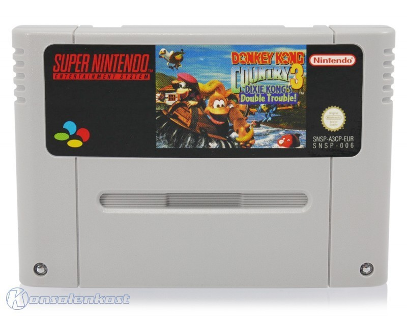 SNES - Donkey Kong Country 3: Dixie Kong\'s Double Trouble