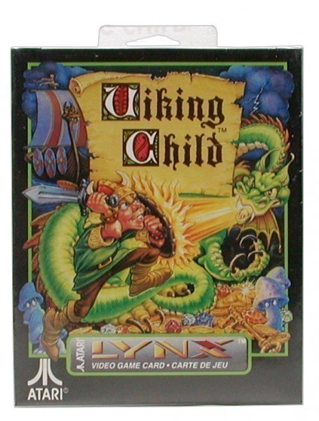 Atari Lynx - Viking Child