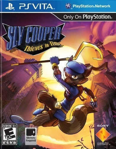 PS Vita - Sly Cooper - Thieves in Time