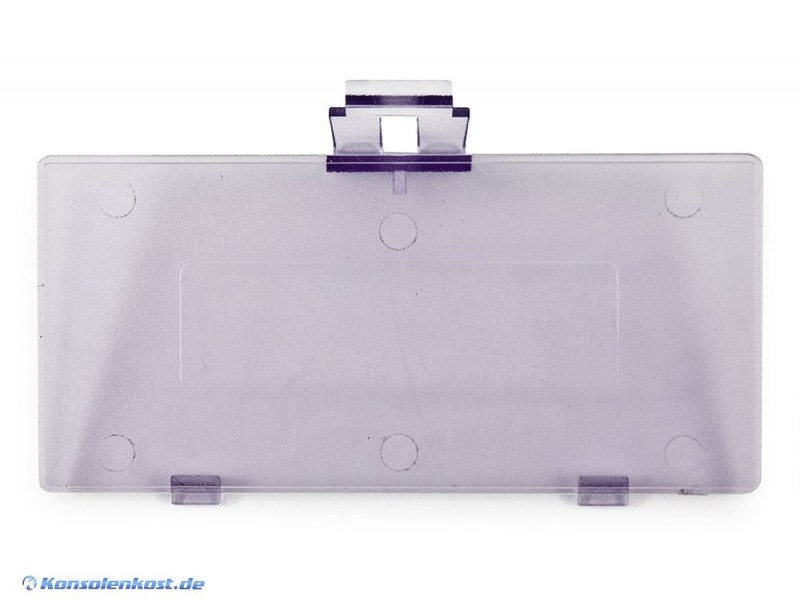 GameBoy Pocket - Batteriefachdeckel, Klappe, Deckel, Abdeckung, Battery Cover #lila-transp.