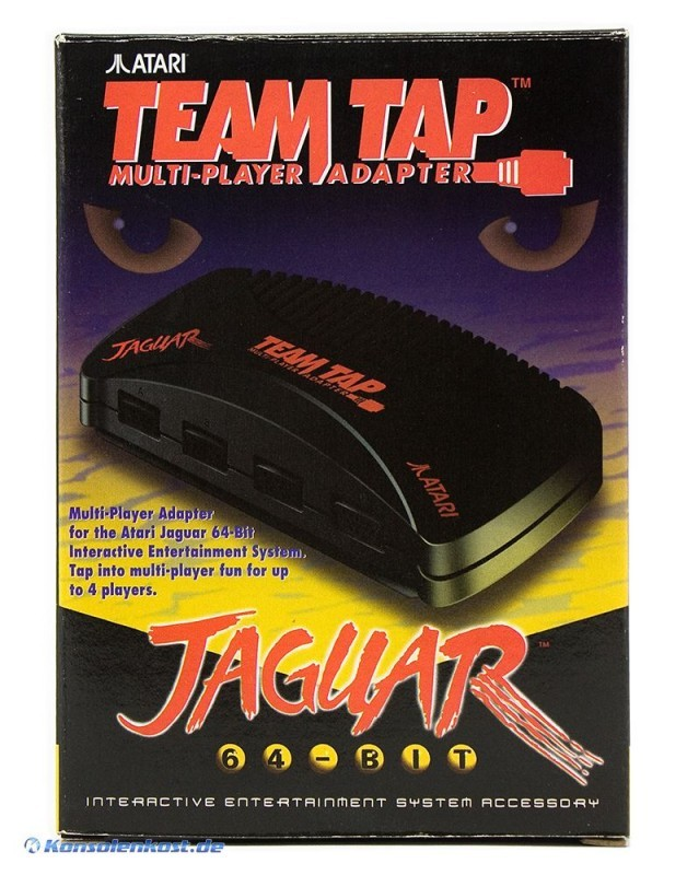 Atari Jaguar - Team Tap - Original Multi-Player Adapter [Atari]