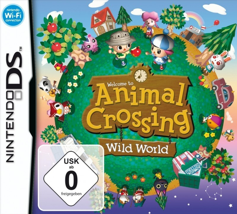 Nintendo DS - Animal Crossing: Wild World