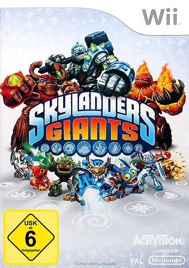 Wii - Skylanders: Giants
