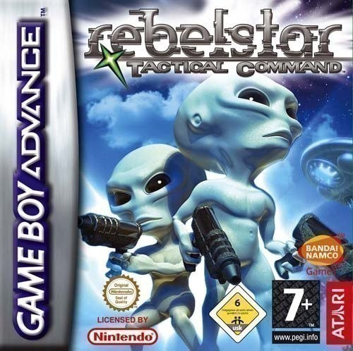 GameBoy Advance - Rebelstar Tactical Command
