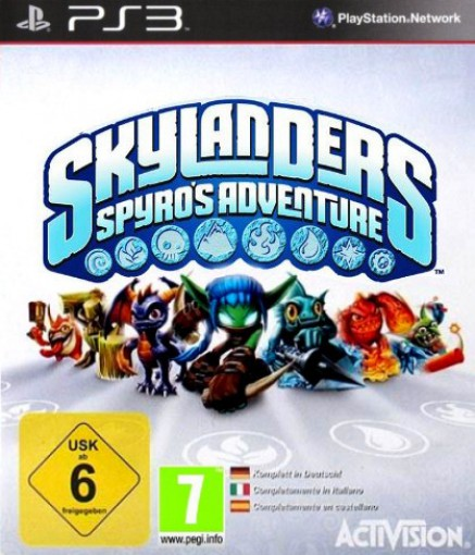 PS3 - Skylanders: Spyro\'s Adventure
