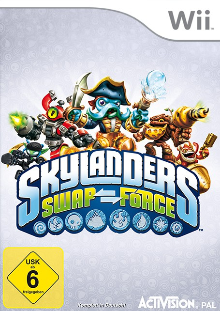 Wii - Skylanders: Swap Force