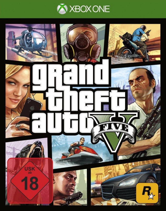 Xbox One - Grand Theft Auto V / GTA 5