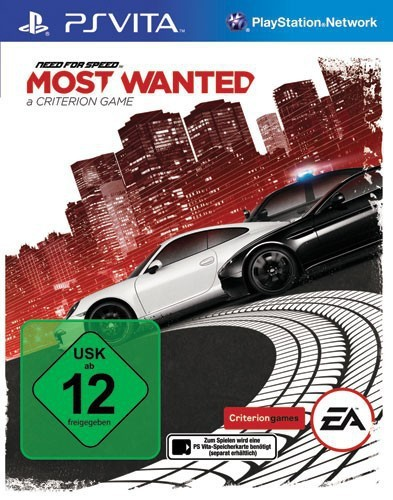 PS Vita - Need for Speed: Most Wanted 2012
