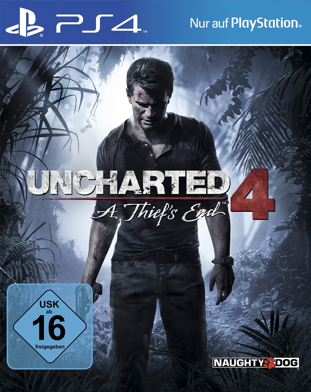 PS4 - Uncharted 4: A Thief\'s End [Standard]