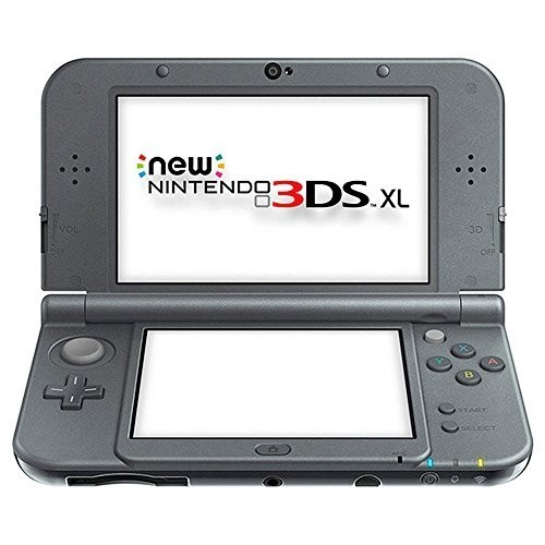Nintendo New 3DS - Konsole XL #Metallic Schwarz + Netzteil