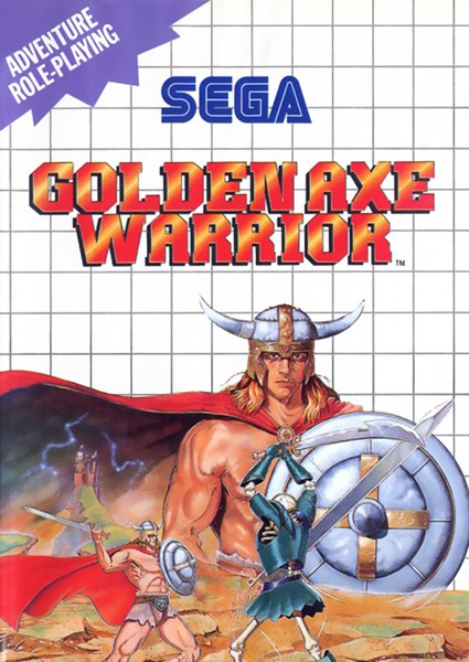 Master System - Golden Axe Warrior SELTEN!