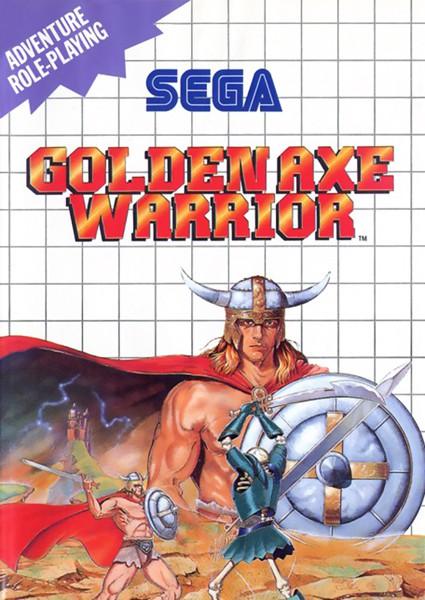 Master System - Golden Axe Warrior SELTEN!