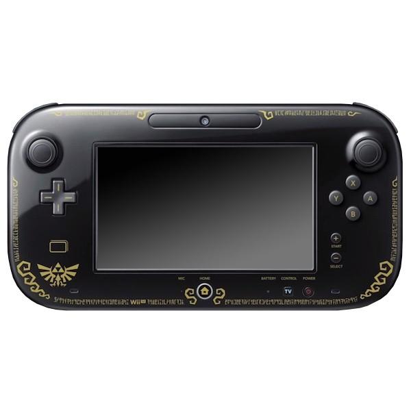Wii U - Original Tablet / Gamepad Controller #schwarz Zelda Wind Waker HD Limited Edition