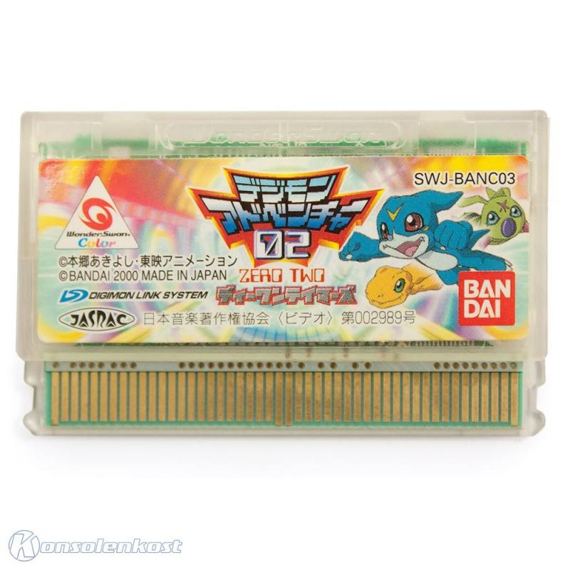 WonderSwan Color - Digimon Adventure 02: D1 Tamers