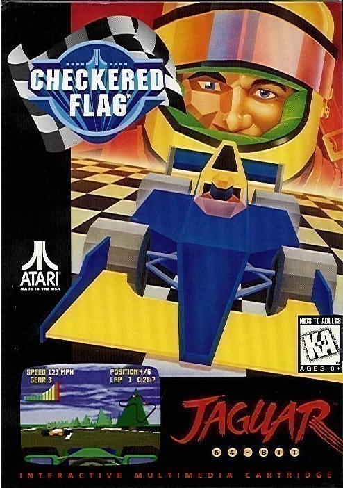 Atari Jaguar - Checkered Flag
