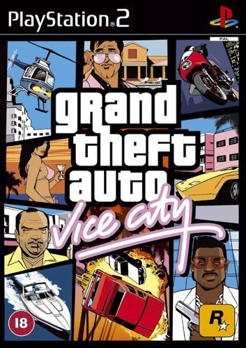 PS2 - Grand Theft Auto / GTA: Vice City