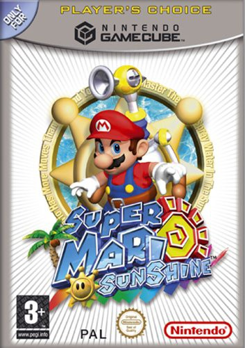 GameCube - Super Mario Sunshine [Players Choice]