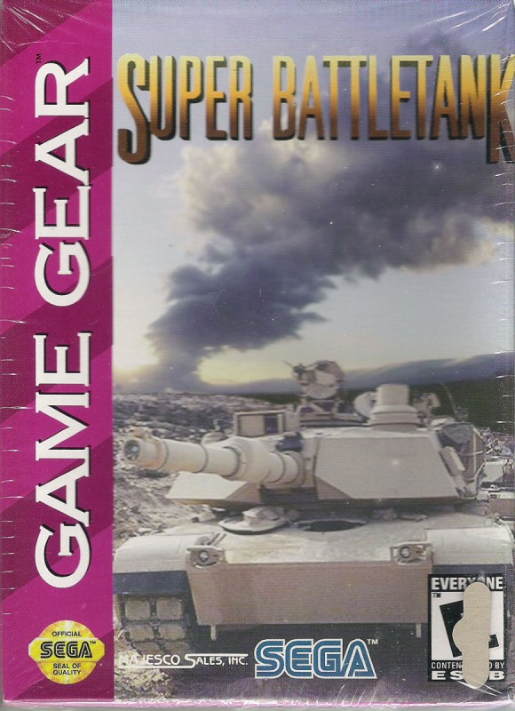 Game Gear - Super Battletank