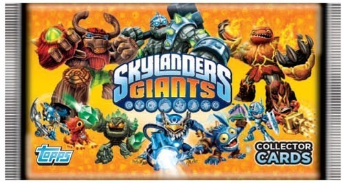 Skylanders - Giants Sammelkarten Booster Pack