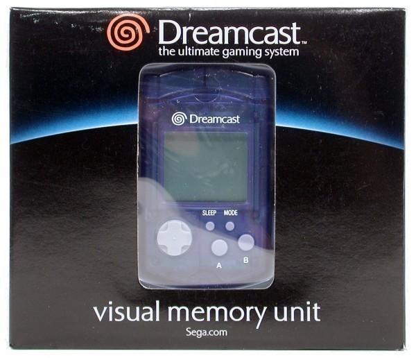 Dreamcast - VMU / Memory Card #blau [Sega]