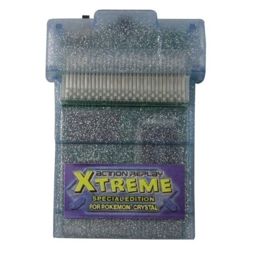 GameBoy Color - Action Replay Xtreme Special Edition Pokemon Kristall / Crystal
