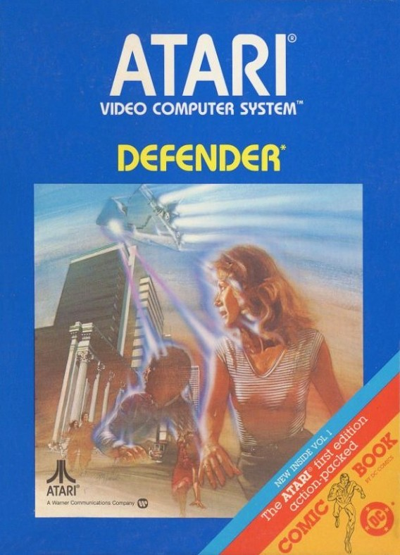 Atari 2600 - Defender #Blacklabel