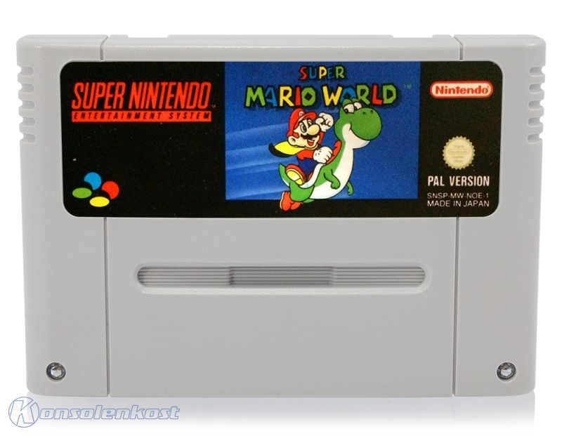 SNES - Super Mario World 1